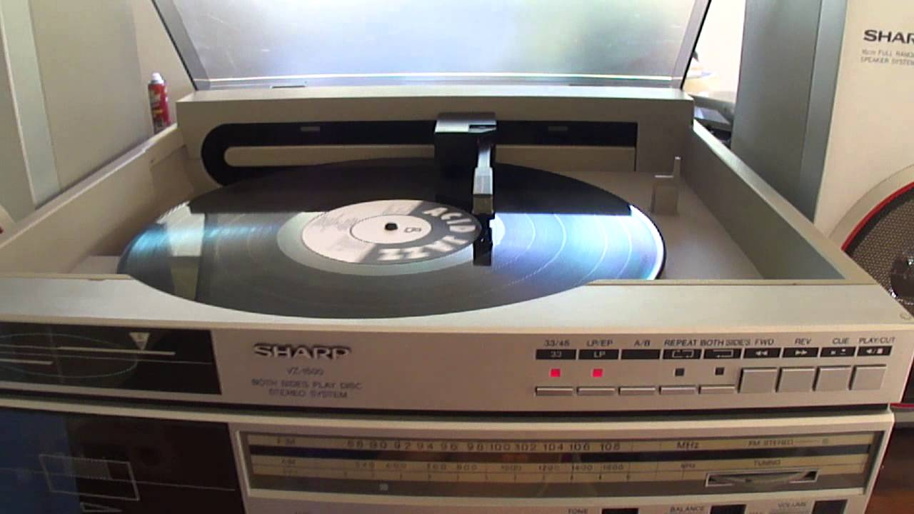 Sharp Vz 1500 Both Sides Play Disc Stereo System Youtube