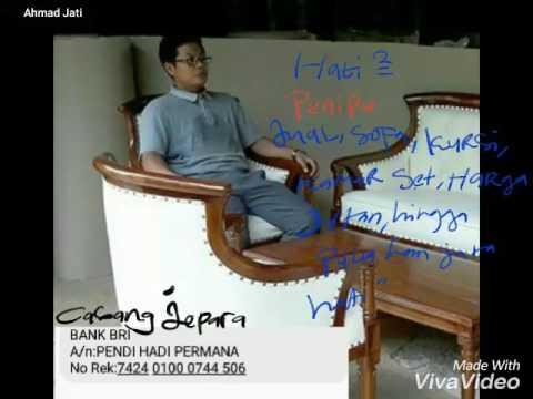 Hati Ini Seorang Penipu Jual Kursi Sofa Kamarset Kayu Jati Orang Jepara Harga Yg Ditawarkan Juta Youtube