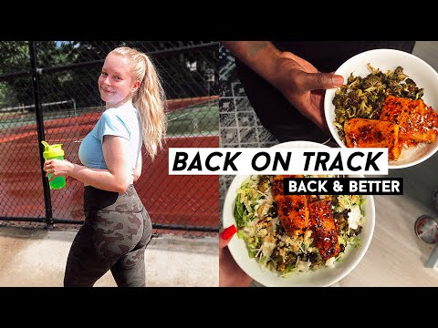 FITNESS VLOG: getting back on track, running, my new healthy routine