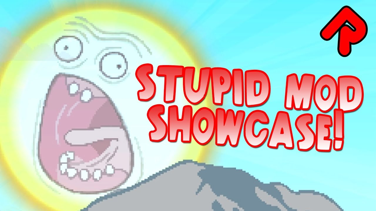 Starbound Stupid Mods Showcase! (Ridiculous Knockback, Screaming Sun etc) |  Best Starbound Mods