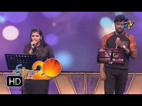 Hemachandra, Chinmayi Performance   Kilimanjaro Bhala Song In Tirupathi ETV @ 20 Celebrations