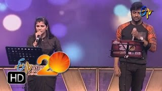 Hemachandra Chinmayi Performance Kilimanjaro Bhala Song in Tirupathi ETV 20 Celebrations