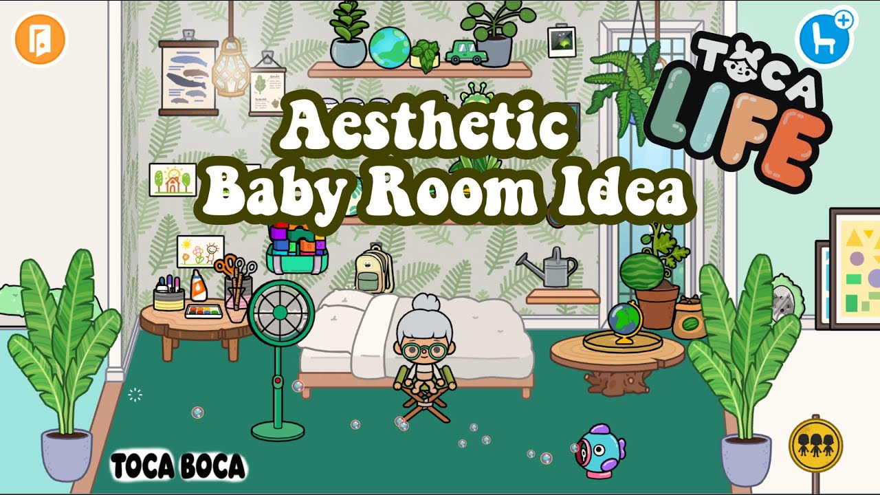 Making An Aesthetic Baby Room In Toca Boca World Life! - YouTube