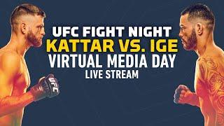 Ufc Fight Night Calvin Kattar Vs Dan Ige Virtual Media Day Live Stream Ufc apex, las vegas, nevada, united states. ufc fight night calvin kattar vs dan ige virtual media day live stream