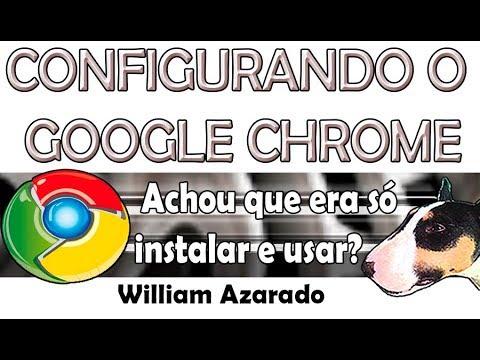 Google Chrome (Configuração de técnico)