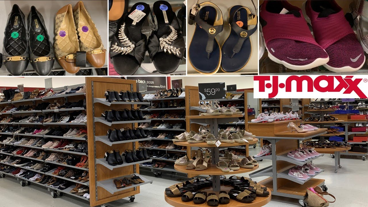 TJ Maxx Designer Shoes Sandals Sneakers | Shop With Me August 2020