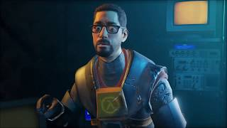 (Half-Life: Alyx) Gordon Freeman is with you every step of the way