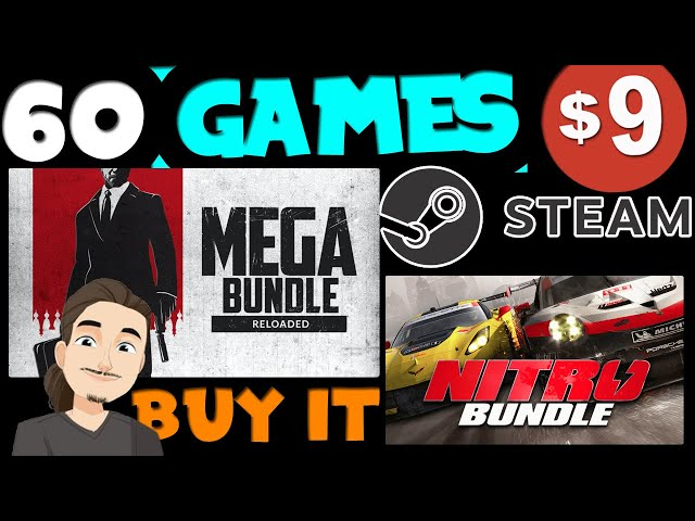 60 Steam Games for $9 || Great New Humble and Fanatical Bundles
