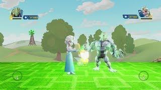 Hulk Frozen Elsa Spiderman Mulan Green Goblin (Hero Destroyer)