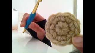 slowly ver☆円の編み方をゆっくりやってみました!かぎ針
