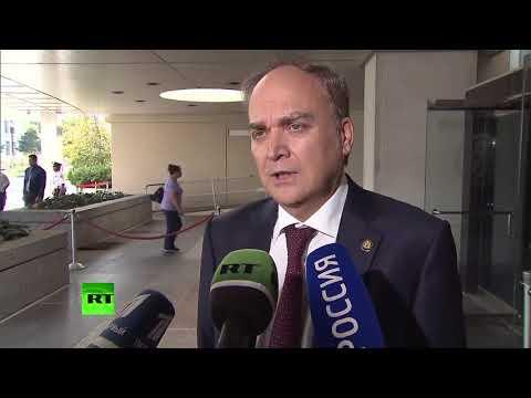 Новый посол России в США рассказал о визите в Госдеп