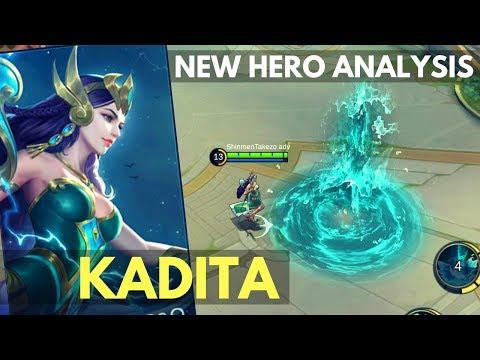 KADITA : NEW MAGE HERO SKILL AND ABILITY EXPLAINED | Mobile Legends