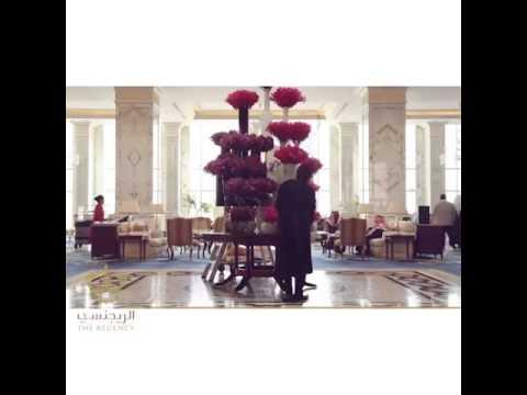 The Regency Hotel Kuwait- Flower Changing