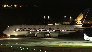 STUNNING Night Flights | Melbourne Airport Plane Spotting