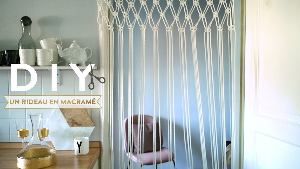 Action Vliegengordijn Un Rideau En Macramé - Diy Westwing France - Youtube
