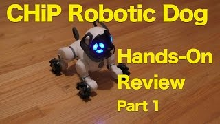CHiP Interactive Robot Pet Dog From WowWee, Hands-On Review, Part 1