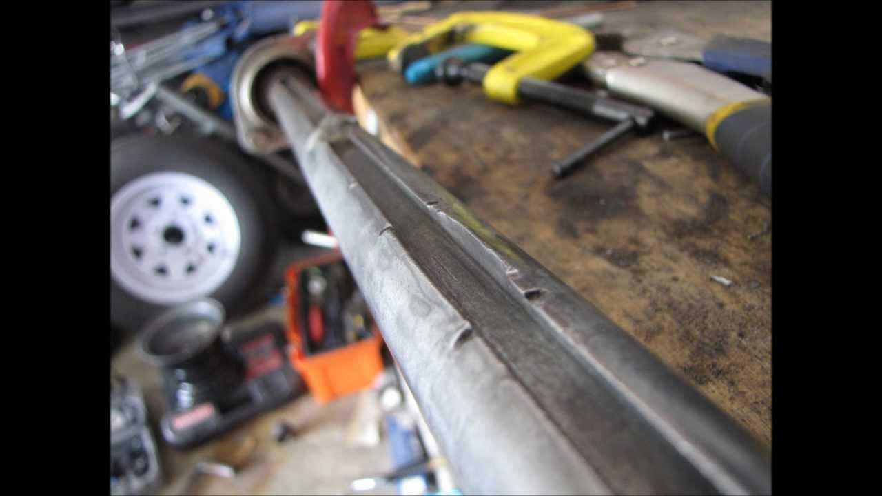 Go Kart Axle Repair, Keyway Repair, Mushroomed, Welding