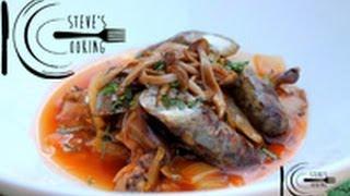 Lamb Sausage With Braised Fennel & Mushroom Ragu Recipe
