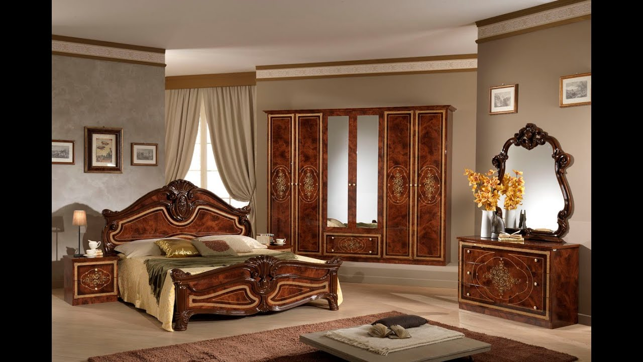 Simple Italian Bedroom Set Ideas