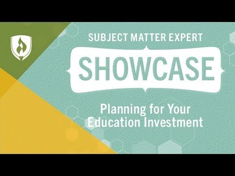 Planning for Your Education Investment: Developing a Tuition Repayment Strategy - SME Showcase
