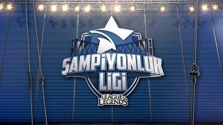 2017 Şampiyonluk Ligi - Yaz Mevsimi - 5. Hafta 1. Gün AUR vs CLK | SUP vs FB | GAL vs P3P