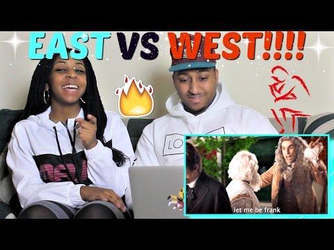 """Epic Rap Battles of History """"Eastern Philosophers vs Western Philosophers"""" REACTION!!"""