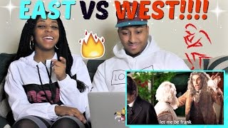 "Epic Rap Battles of History ""Eastern Philosophers vs Western Philosophers"" REACTION!!"