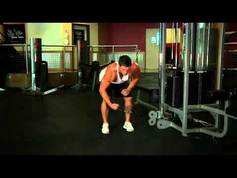 Bodybuilding.com Videos - Exercise Guides- Bent Over Low Pulley Side Lateral_ Male_Long Clip.mp4