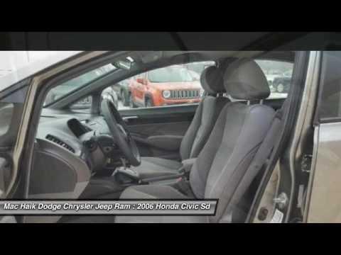 Mac Haik Dodge Temple Tx >> 2006 Honda Civic Sdn Temple TX 157463A - YouTube