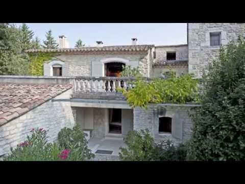 Mas Restauré Avec 7 Chambres à Vendre En Provence Luberon