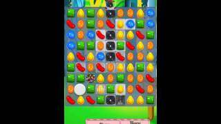 Candy Crush Saga Level 416 iPhone No Boosts