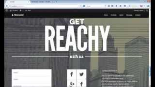 How To Edit Contact Page in Mercurial Theme