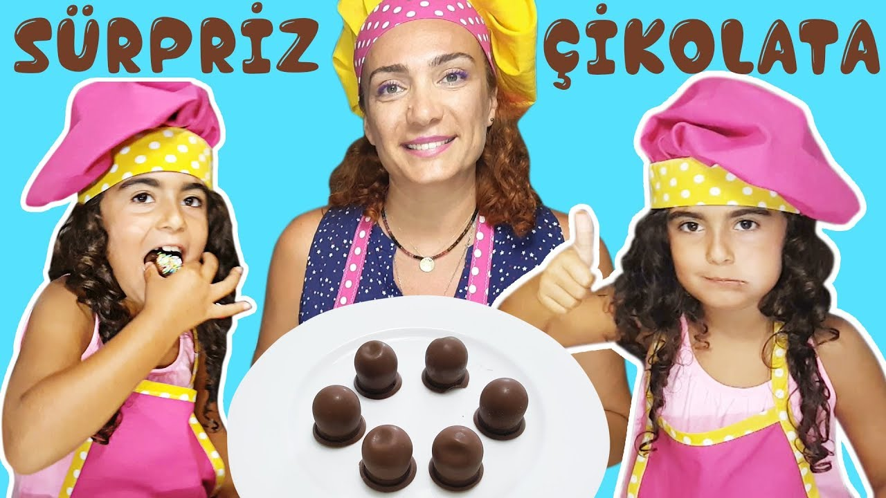 Evde Çikolata Yapımı Videosu