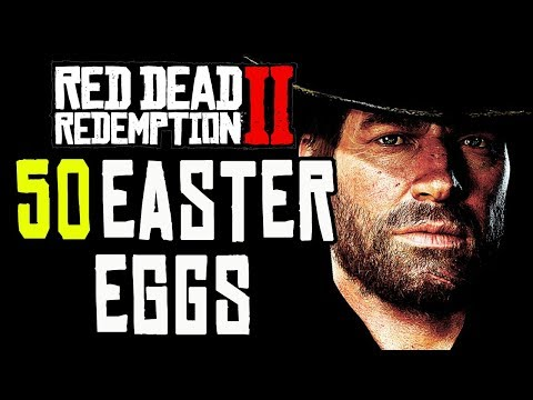 Red Dead Redemption 2 - TOP 50 WEIRD EASTER EGGS!