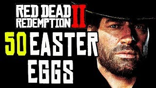 Red Dead Redemption 2 - TOP 50 WEIRD EASTER EGGS!