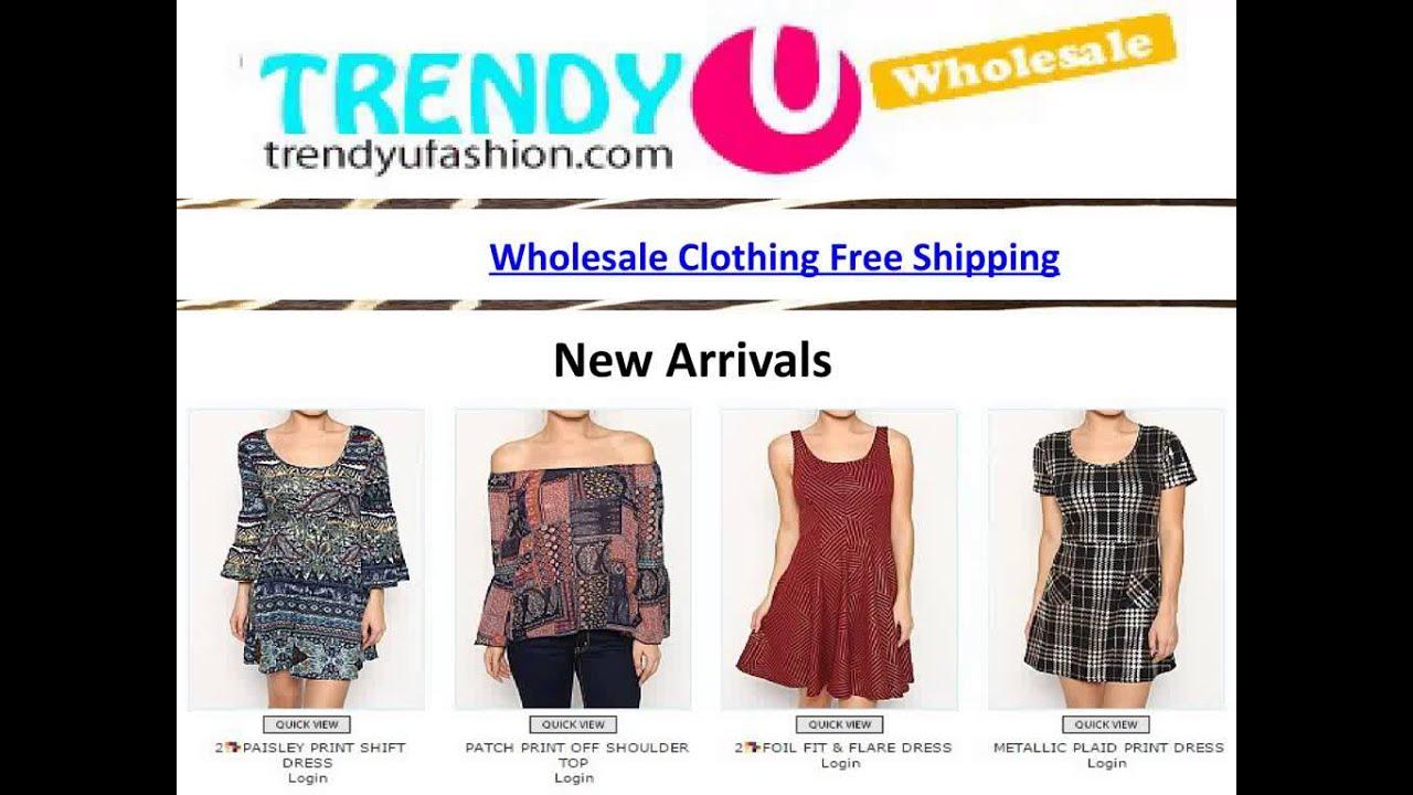 Wholesale Clothing Free Shipping - YouTube