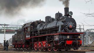 КЛЁВА. PRO//Движение.Экспо (ЧАСТЬ2). Выставка железнодорожной техники. Крутые поезда и паровозы.