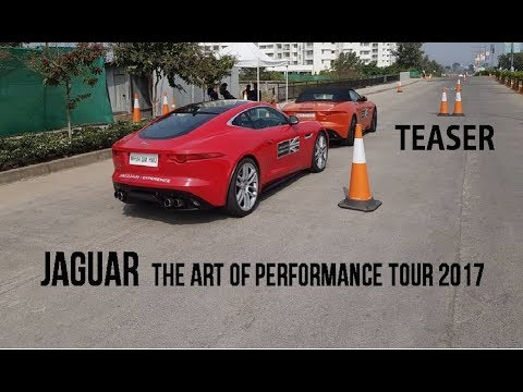 JAGUAR   THE ART OF PERFORMANCE TOUR   PUNE 2017   TEASER