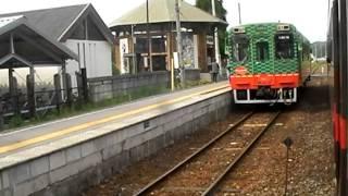 真岡鐵道鐡道SL「C11」、茂木~益子