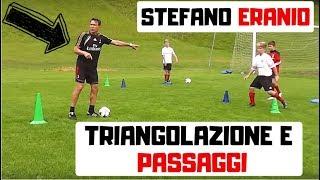 Triangolazione e passaggi - AC Milan Junior Camp - Stefano Eranio(, 2017-02-28T09:36:53.000Z)