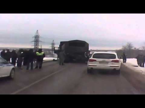 News 13 02 2015,Russian Federation security forces catch truck with militants in the Rostov region
