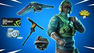 NEW REFLEX SKIN & MOTHMANDO SKIN - Fortnite Daily Reset & NVidia GeForce Bundle (Daily Item Shop)