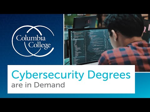 Cybersecurity Degrees are in Demand