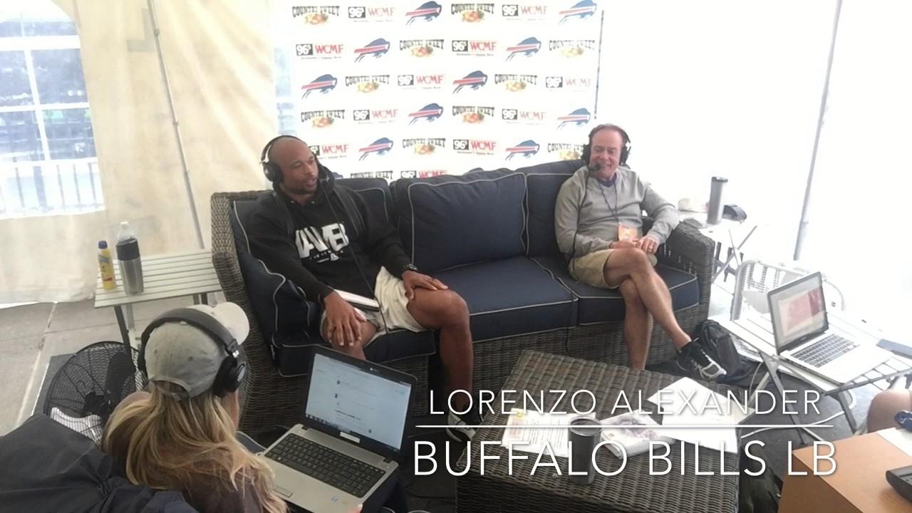 Buffalo Bills Lb Lorenzo Alexander The Dad Uniform Youtube