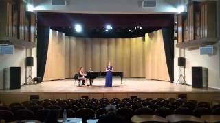 Diana Kirienko - Pamina`s aria, Rimskiy-Korsakov 'Sadko', Gounod, Черемуха