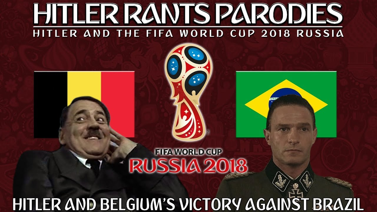 Hitler and Belgium's victory over Brazil in the World Cup