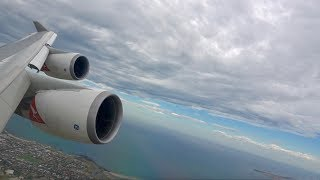 WILD landing onboard a Qantas Boeing 747-400ER into Melbourne Airport (MEL)