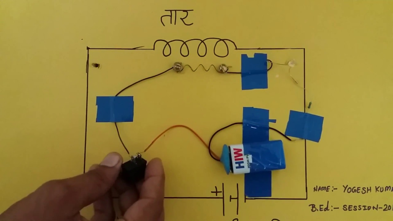 Physics Working Model for B.ed science Fair & exhibition ..Part 2 ...