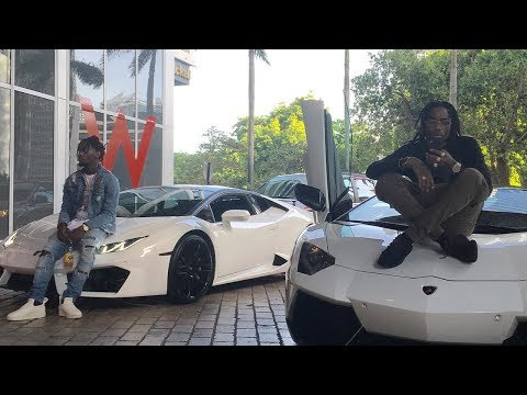 The Migos Show Off Their Cars ''We Got The Best Cars In The Industry''