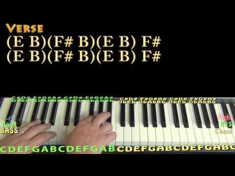 Ain't No Man (Avett Brothers) Piano Lesson Chord Chart